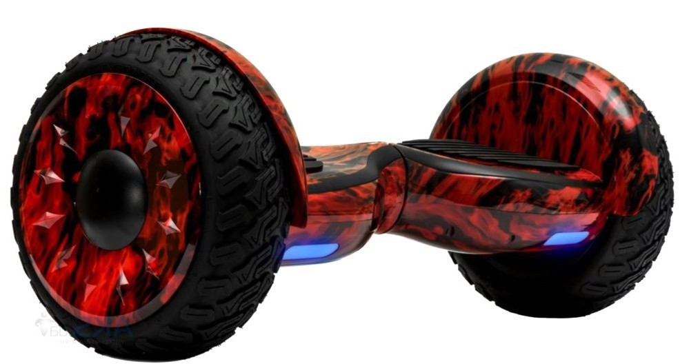 Гироскутер Smart Balance Cross-country AQUA 11.5 Огонь TaoTao + Самобаланс
