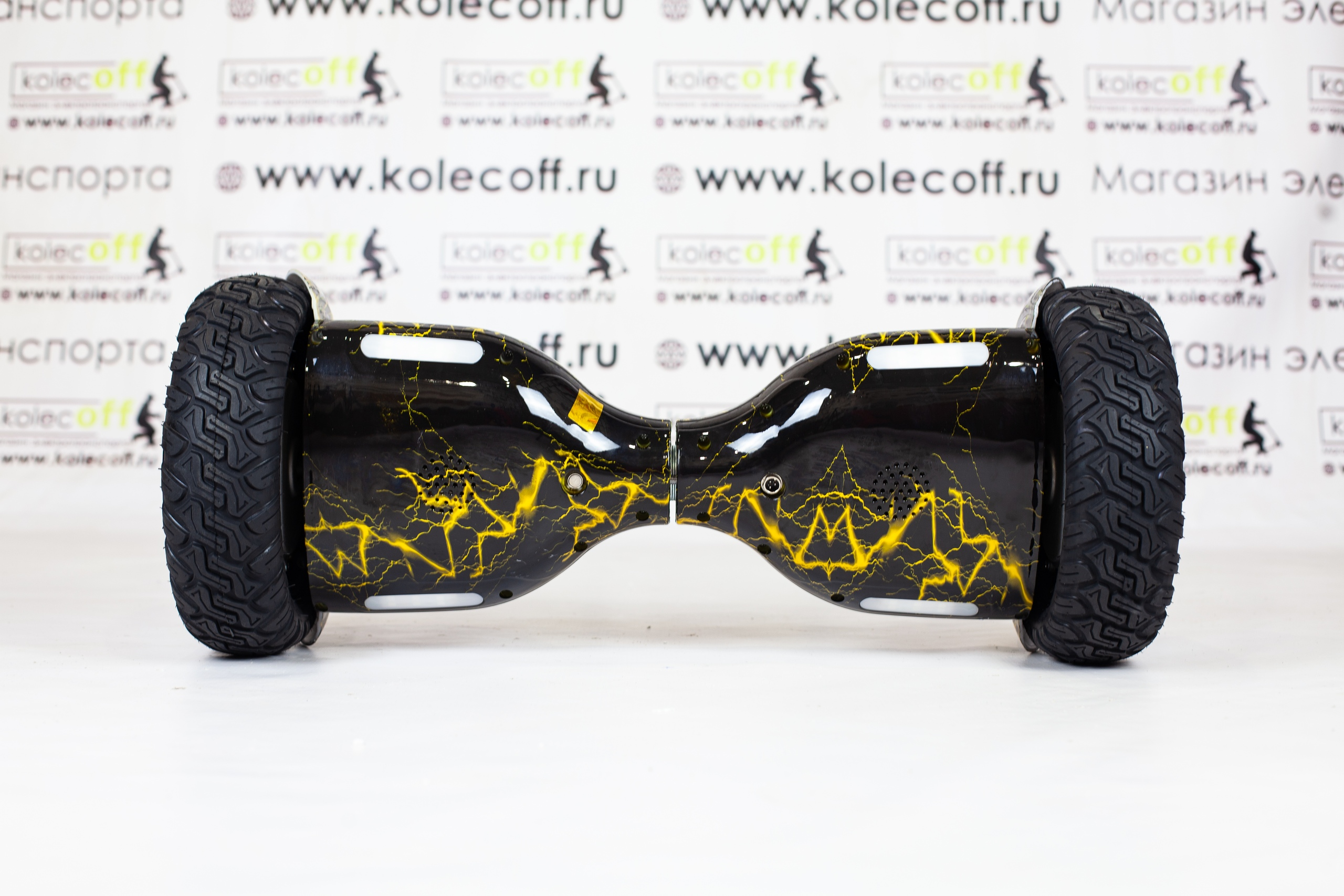 Гироскутер Smart Balance Cross-country AQUA 11.5 Жёлтая молния TaoTao + Самобаланс